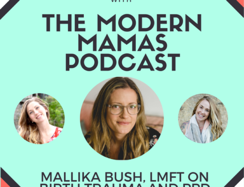 Episode #30 of the Modern Mamas Podcast – Mallika Bush