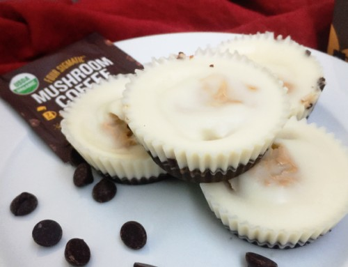 dark chocolate coconut cashew butter cups