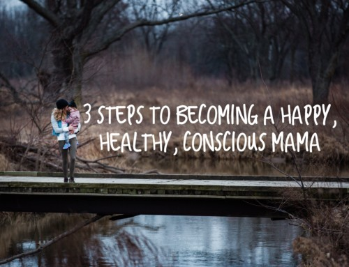 Guest Post: 3 Steps to Becoming a Happy, Healthy, Conscious Mama