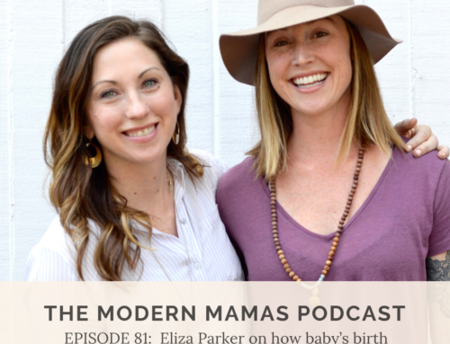 Episode #80 of the MMP: Eliza Parker & the impact of birth story