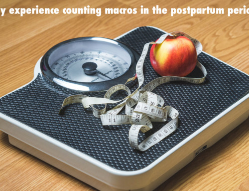 counting macros and the postpartum period